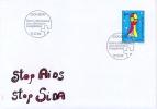 Switzerland 1994 FDC Stop AIDS - Malattie