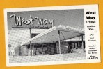 Etats Unis United States Wyoming Rawlins Motel West Way Lodge - Etats-Unis