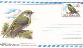 Papua New Guinea 1992 45c Hornbill Aerogramme Mint - Papouasie-Nouvelle-Guinée