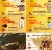 LOTE DE 6 TARJETAS TELEFONICAS DIFERENTES DE COSTA RICA (PREPAGO).