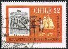 Chile SG790 1977 150th Anniversary Of Newspaper El Mercurio De Valparaiso 2p Good/fine Used - Stamps