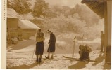 Kumannoyu Hot Springs Japan, Getting Ready To Ski In Morning, C1930s Vintage Photograph - Places