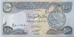 IRAQ - 250 Dinars 2003 UNC - Iraq
