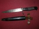 Poignard De Tranchée Allemand 14/18 Nettoyeur De Tranchée - Knives/Swords