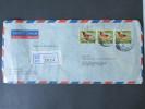 Asien / Sri Lanka 1973. Havelock Town. 2 R-Briefe Nach Rüsselsheim. Motivmarken! - Sri Lanka (Ceylon) (1948-...)