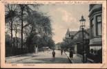 ! Alte Ansichtskarte Aus Zeitz , Fabrikstrasse, Hilfs Lazarett Stempel Burggarten, 1916 - Zeitz