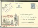 Publibel Obl. N° 1068 ( Maison FAVRIL; Confection - Tournai) Obl: Tournai: 04/07/1952 - Stamped Stationery