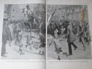 Guerre 1914-18 La Joie De PARIS Libéré  Libération  11 Nov  1918 Place De La Concorde Et L Opéra  Par Sabattier - Vieux Papiers