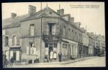 Cpa Du 53  Villaines La Juhel -- La Grande Rue - Hôtel Breteau   BB8 - Villaines La Juhel