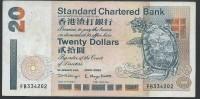 BANKNOTES  2000 HONG KONG 20 DOLLARS - Hong Kong