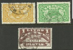 LITAUEN Lithuania 1924 Michel 220 - 221 & 223 O - Litauen