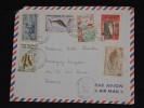 FRANCE - COTE DES SOMALIS - Enveloppe De Djibouti Pour La France En 1968 - Aff. Plaisant - A Voir - Lot P11631 - Lettres & Documents