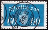 Norway 1933 Minr.19  I  35mm X19,5mm OSLO 25-4-1938 ( Lot C 145 ) - Service