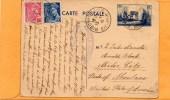 France 1938 Card Mailed To USA - Postwaardestukken