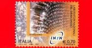 ITALIA - Usato - 2014 - Laboratori Di Fisica Nucleare - INFN - 0,70 € • Laboratori Nazionali Del Gran Sasso, Borexino - 2011-...: Usati