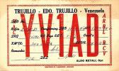 [DC4194] CARTOLINA - TRUJILLO EDO - VENEZUELA YV1AD - Viaggiata 1949 - Old Postcard - Venezuela
