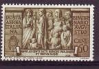 REGNO POSTA AEREA 1937 N. A107  50c. BRUNO OLIVA  NUOVO* 1 VALORE - Poste Aérienne