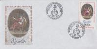 Enveloppe  Bicentenaire  De  La   REVOLUTION      ERMENONVILLE    1989 - Révolution Française