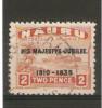 NAURU 1935 SILVER JUBILEE 2d SG 41 FINE USED Cat £4.25 - Nauru