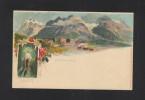 Schweiz Litho-AK Grindelwald 1899 - BE Bern