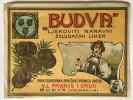"LABEL ADVERTISING ""BUDVA"" LIKER LIQUEUR DALMACIJA BEFORE 1945 - Alcohols"