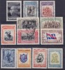 URUGUAY - 1952-  Mi. Nr. 757....768 - Death Of Artigas - Serie Complet. - Gebruikt/oblit/usato/used -  ° - Uruguay