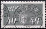 Norway 1933  Minr.18  I   35mm X19,5mm  TØNSBERG 8-8-1935  ( Lot C 254 ) - Service