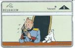 Cate Téléphonique Neuve , Télécard Belgacom TINTIN Et Milou En Couleur (5 Unités) - Stripverhalen