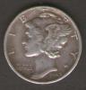 STATI UNITI DIME 1942 MERCURY AG SILVER - 1916-1945: Mercury (Mercurio)