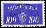 Norway 1933  Minr.21 I   35mm X19,5mm Oslo ( Lot C 262 ) - Service