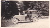 25021 Photographie Originale  Belgique - Vieille Voiture  - Homme - Automobiles