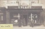 BRIARE : Devanture Du Quincaillier JACOB Puis RENAUD 64 Gde Rue - Superbe Carte Photo - Commerce - Briare