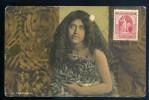 Cpa  De Nouvelle Zelande -- An Arawa Girl  -- New Zealand   BB14 -- 2 Scans - Nouvelle-Zélande