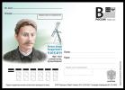 """2015-316 Russia Russland Russie Rusia Postal Card """"B"""" A.A.Chikin (1865-1924), Scientist-Optik, Traveler - Fysica"""