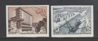 Madagascar 1956, Yvnr 328-329, UNPERFORATED, Mlh. Cv 22 Euro - Neufs
