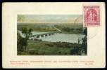Cpa  De Nouvelle Zelande Manawatu River Fitzherbert Bridge Palmerston North From Clifton - New Zealand BB13 -- 2 Scans - Nouvelle-Zélande