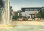 D957 - POSTAL - LYON - RHONE - PLACE CARNOT, LE JET D´EAU ET LE CENTRE D´ECHANGE DE PERRACHE - Lyon