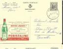 Publibel Obl. N° 1276 ( PERISTALINE Pour Restez Jeunes) Obl: Reves 19/02/1955 - Publibels