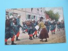 Pendant La Marche - Anno 1909 ( Zie Foto Details ) !! - Militaria