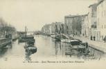 13 MARTIGUES / Quai Marceau Et Le Canal Saint-Sébastien / - Martigues