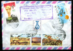 "Ägypten 1990 Bedarfsbrief/Cover Mit Mi.Nr.1151,1152,1154-1156 MiF ""Port-Said-Germany,Allemagne  "" 1 Beleg - Posta Aerea"