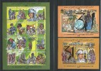 Libya Libyan 2000 31ST SEPTEMBER REVOLUTIION.Gaddafi,hologram,Sciences,costumes,2 BL. And S/S Stamps.MNH - Libyen