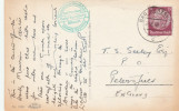 1938 GERMANY Stamps COVER HOTEL BURGBERG Cachet Bad Harzburg Postcard To GB - Germany