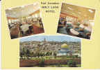 1979 Israel Postcard HOLYLAND HOTEL EAST JERUSALEM Israel Stamps - Hotels & Restaurants