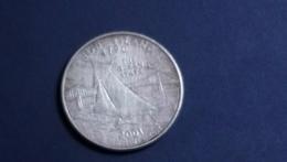 25 Cents / Quarter (Rhode Island)_km320_2001 - 1999-2009: State Quarters