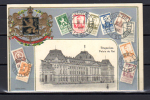 Carte Postale  Philatélique > Vue Du Palais Royal De Bruxelles Timbres Pellens Roi Albert - 1912 Pellens