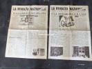 """LOTTO DI 2 NUMERI DEL GIORNALE:""""LA RIVOLTA NAZIONALE"""" GIUGNO E LUGLIO 1960-4 PAGINE OGNUNO-VEDI SCAN. - Livres, BD, Revues"""