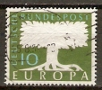 ALLEMAGNE     -     EUROPA    -    1958 .   Y&T N° 166 Oblitéré - Europa-CEPT