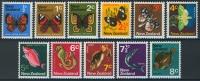 "New Zealand 1970 ""Definitives"" Complete Small Format ** /MNH - Nouvelle-Zélande"