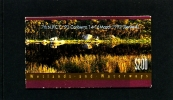 AUSTRALIA - 1992  $ 2 WETLANDS BOOKLET  OVERPRINTED NPCC CANBERRA  FINE USED GPO CANCEL SG SB76 - Libretti